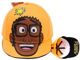 Yo Gabba Gabba DJ Lance Flat Bill Cap Hat (Adjustable)