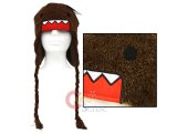 Domo Kun Plush Lapland Hat : Beanie with Ear Flap (Teen-Adult)