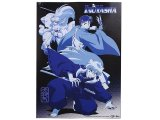 Inu Yasha Wall Scroll Poster- GE9587 : Blue Tone