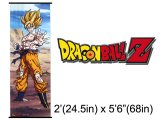 Dragon Ball Z Goku Battle Long Wall  Scroll / Fabric Poster (GE9396): 5.6Ft