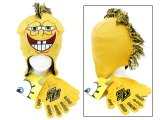 Nick Jr. Spongebob Gloves Lapland Mohican Beanie Set