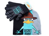 Phineas and Ferb Agent P   Gloves, Beanie Set