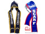 NFL San Diego Chargers Hooded Knit Scarf w/Pocket