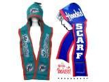 NFL Miami Dolphins Hooded Knit Scarf w/Pocket
