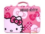 Sanrio Hello Kitty Formed 16in  LapTop Case Pink Bow  Briefcase