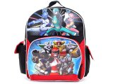 "Power Rangers  School Backpack/Bag- 12"" Medium : Super Legends"