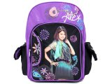 "Wizards of Waverly Place School Backpack/Bag :16"" Large :Purple"