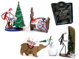 Nightmare Before Christmas Trading Figures Series 1  Extra : 4pc Set