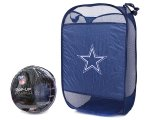 NFL Dallas Cowboys Pop-Up Hamper Laundry Bag
