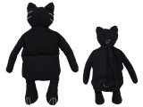 Black Cat Plush Doll Bag Custume Bag :33in