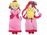 Nintendo Super Mario Princess Peach Plush Bag / Backpack -19in