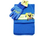 SpongeBob Beanie Gloves Scarf Set : Run