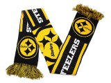 NFL Pittsburgh Steelers Kinnited Scarf