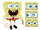 Nick Jr. SpongeBob Plush Doll w/ 3D Moving Eyes 18in