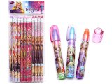 Disney Princess Tangled Rapunzel Pencil ,Fragrance Eraser Set