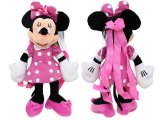 Disney Minnie Mouse Kids Plush Backpack :Pink