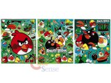 Angry Birds Stickers Cling Set of 3 - Removable Wall Window