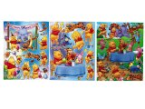 Winnie Pooh & Friends Stickers Cling Set of 3 - Removable Wall Window