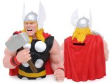 Marvel Hero Thor Bust Figure Coin Bank