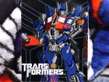 "TransFormers Optimusprime Raschel  Plush Throw Tiwn Blanket :60"" x 80"""
