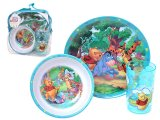 Winnie Pooh & Friends 3Pc Kids Dining / Dinnerware Set