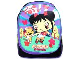 Ni Hao Kai-Lan Face Large School Backpack :Purple