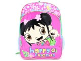 Ni Hao Kai-Lan Large School Backpack :Pink with HoHo
