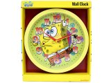 Nick Jr. Spongebob Round  Wall Clock -10in