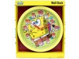 Nick Jr. Spongebob Round  Wall Clock -10in