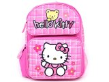 "Sanrio Hello Kitty School Backpack: 16"" Large - Teddy Bear"