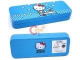 Sanrio Hello Kitty Metal Pencil Case - Blue Sailer