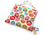 Paul Frank Chair Cushion with Tie Strap : Candy Dots