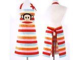 Paul Frank Cotton Apron - Rainbow