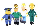 Simpson Homer with Friends  Plush Doll 4pc Set : Large