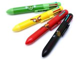 Angry Brids 8 color Retractable Ballpoint Pens 4PC Set