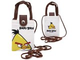 Rovio Angry Birds Multipurpose Pouch Bag  w/Shoulder Strap : Yellow Bird