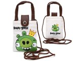 Rovio Angry Birds Multipurpose Pouch Bag  w/Shoulder Strap : Green Pig