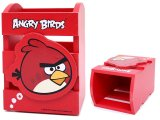 Rovio Angry Birds Wooden Pencil Holder / Organizer Box : Red Bird