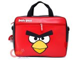 Rovio Angry Birds Fuax Leather Messenger Bag / Briefcase : Big Face