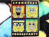 "Nick Jr Spongebob 4 Face  Raschel Plush Blanket 60"" x 80"""