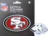 NFL San Francisco 49ers Trailer/Truck Logo Hitch Cover
