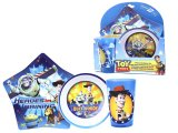 Toy Story Buzz Woody 3pc Dinnerware Set