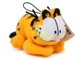 Garfield Plush Doll Figure -5in Hanging Plush