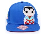 Funko Superman Pop Heroes Snapback Flat Bill Cap