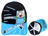 Adventure Time with Finn & Jake Finn  Youth Hat , Adjustable Cap