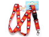 Betty Boop  Key Chain Lanyard  ID Holder : Red in Dots