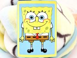 Nick Jr. SpongeBob  Plush Throw Blanket (30in x 43in)