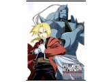 Fullmetal Alchemist Brotherwood Wall Scroll Edward Elric Alphonse Fabric Poster