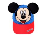 Disney Mickey Mouse Baseball Cap Hat with 3D Ear : Kids Adjustable