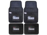 Fanmats New England Patriots Car Floor Mats 4pc Set